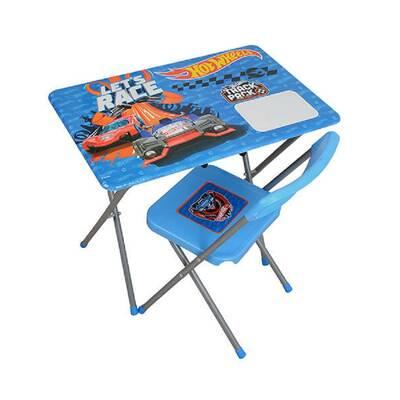 Hotwheels Ders Çalışma Masası ve Sandalyesi