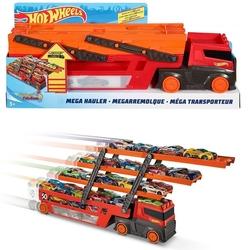 Hot Wheels - HotWheels Mega Oyuncak Tır (Kırmızı-Turuncu) GHR48