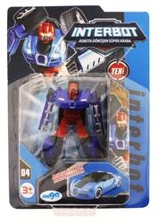 MEGA - İnterbot Robota Dönüşen Mavi Metal Araba