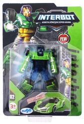 MEGA - İnterbot Robota Dönüşen Yeşil Metal Araba