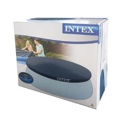 İntex - İntex 28021 Havuz Örtüsü Easy Kolay Kurulum Kapak 305 Cm