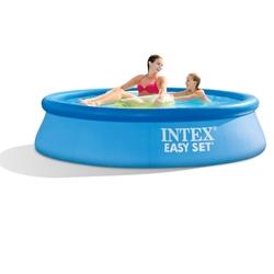 İntex - İntex 28106 Easy Kolay Kurulum Mavi Renkli Şişme Havuz 244X61 Cm