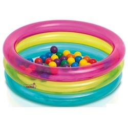 İntex - intex 3 Boğumlu Renkli Oyun havuzu 50 Top Hediyeli
