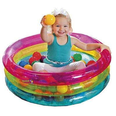 intex 3 Boğumlu Renkli Oyun havuzu 50 Top Hediyeli