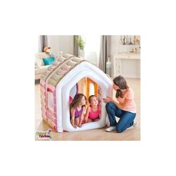 İntex - Intex 48635 Kiddie Prenses Şişme Oyun Evi Şişme Koltuk ve Puf