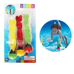 İntex - İntex 55503 Renkli 3lü Su Altı Oyunu