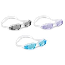 İntex 55682 Vakumlu Sporcu Yüzücü Gözlüğü (8+, 3 Renk) - Thumbnail