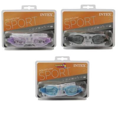 İntex 55682 Vakumlu Sporcu Yüzücü Gözlüğü (8+, 3 Renk)