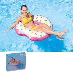 İntex - İntex 56265 Donut Tube Şişme Simit 107x99 Cm