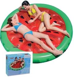 İntex - intex 56283 Karpuz Desenli Ada Şişme Deniz Havuz Yatağı 183x23 Cm