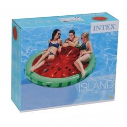 intex 56283 Karpuz Desenli Ada Şişme Deniz Havuz Yatağı 183x23 Cm - Thumbnail