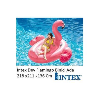 İntex 56288 Büyük Şişme Flamingo Binici
