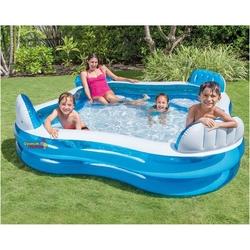 İntex - İntex 56475 Büyük Boy Koltuklu Aile Havuzu 229x229 Cm