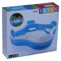 İntex 56475 Büyük Boy Koltuklu Aile Havuzu 229x229 Cm - Thumbnail