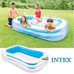 İntex - Intex 56483 Büyük Şişme Aile Havuzu Dış Bölme Şeffaf 262x175x56 cm