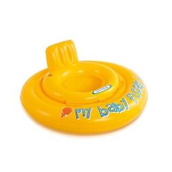 İntex 56585 Şişme Sarı Bebek Simiti Baby Float 70 Cm (6-12Ay ) - Thumbnail