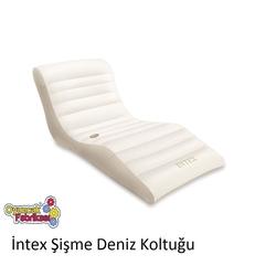 Intex 56861 Krem Renk Şişme Şezlong Koltuk Yatak 193x102 cm - Thumbnail