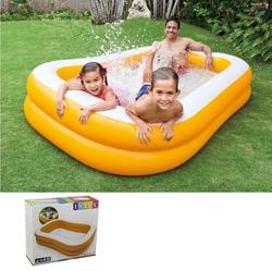 İntex - İntex 57181 Mandalina Aile Şişme Havuzu 229x147x46 cm