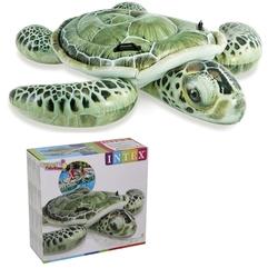 İntex - İntex 57555 Gercekçi Şişme Kaplumbağa Binici 191x170 Cm