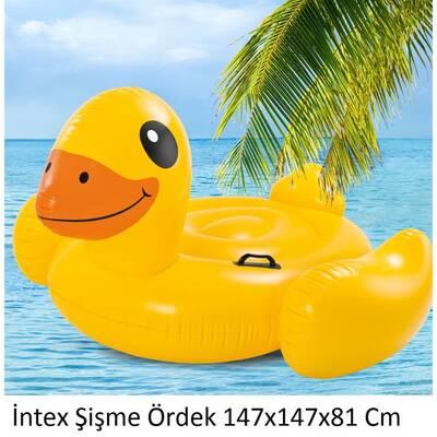 Intex 57566 Şişme Ördek Deniz Yatağı