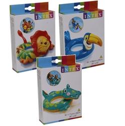 İntex - İntex 58221 Hayvan Figürlü Çocuk Simiti 3 Model 3-6 Yaş