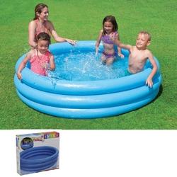 İntex - İntex 58446 Kristal Mavi Şişme Havuz 168x40 cm