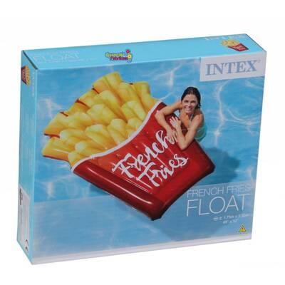 Intex 58775 Şişme Patates Kızartması Deniz Yatağı-Ada 175x132 Cm