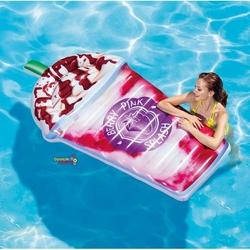 İntex - intex 58777 Berry Pınk Şişme Karışık Meyveli İçecek Deniz Havuz Yatağı 198x107 Cm