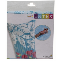 İntex 59720 Baskılı Şeffaf Deniz Yatağı - Thumbnail