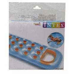 Intex 59895 İntex Bardaklı Mavi Kırmızı Yatak 188x71 Cm - Thumbnail