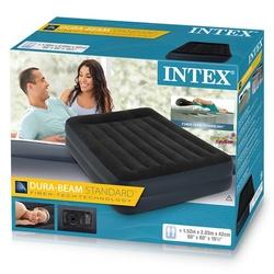 İntex - İntex 64124 Elektrikli Dura-Beam Çift Kişilik Şişme Yatak