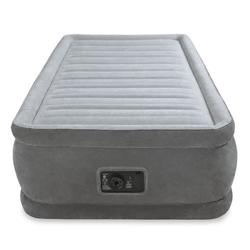 İntex - İntex 64412 Tek Kişilik Şişme Yatak 3 Katlı Elektrikli
