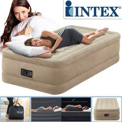 İntex - Intex 64456 İntex Tek Kişilik Elektrikli Şişme Yatak