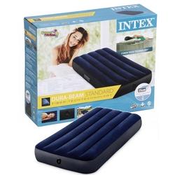 İntex - İntex 64756 Fiber-Tech Klasik Tek Kişilik Şişme Yatak 76x191x25 Cm