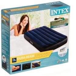 İntex - Intex 64757 Tek Kişilik Yatak Airbed Klasik Downy 99x191x25