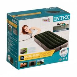 İntex - Intex 64760 Tek Kişilik Şişme Yatak Dura Beam Downy Airbed 76 x1.91x25 Cm
