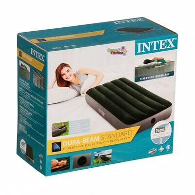 Intex 64760 Tek Kişilik Şişme Yatak Dura Beam Downy Airbed 76 x1.91x25 Cm