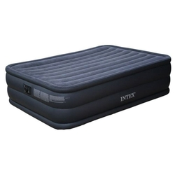İntex - İntex 66718 Çift Kişilik Şişme Yatak Elektrikli