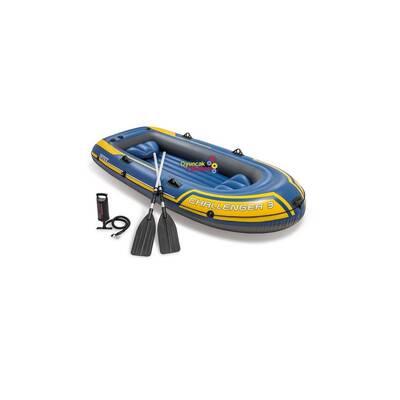 İntex 68370 Challenger 3 Şişme Bot Set