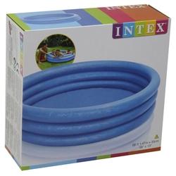 intex Büyük Kaydırak ve İntex Şişme Büyük Mavi Havuz+100 Adet Top+Pompa+Tamir Kiti - Thumbnail