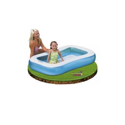 İntex Şişme Çocuk Havuzu Kaydıraklı +100 Adet Oyun Topu+Pompa