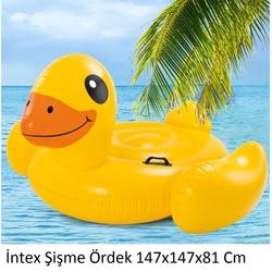 İntex - İntex Şişme Sarı Ördek Binici