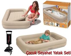 İntex - intex Şişme Yatak Çocuk Seyahat Seti 66810