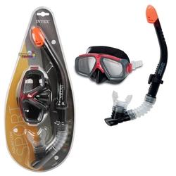 İntex - Intex Surf Rider Yüzücü Set Şnorkel Yüzme Dalış Yüz Maskesi