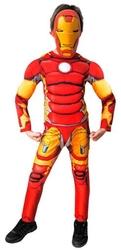IRON MAN - Ironman Kaslı Kostüm 10-12 Yaş