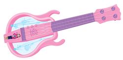 MEGA - Işıklı Müzikli Eğlenceli Pembe Gitar