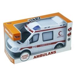 Vardem Oyuncak - Işıklı Sesli Hareketli Oyuncak Ambulans