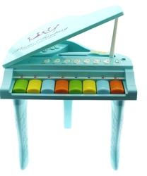 Işıklı ve Sesli Mavi İlk Pianom - Thumbnail