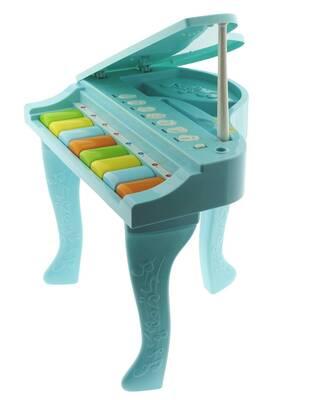 Işıklı ve Sesli Mavi İlk Pianom