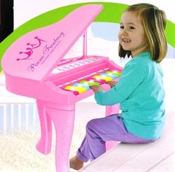 MEGA - Işıklı ve Sesli Pembe İlk Pianom
